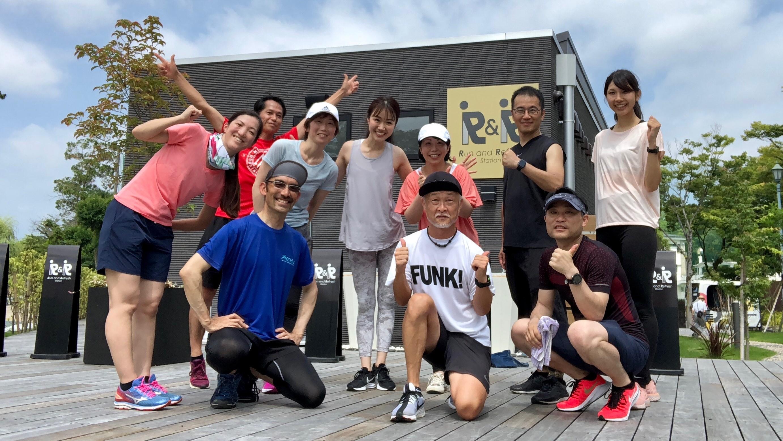 7/28(日)開催 and RUNNING #03<br>ヨガもランニングも<br>身体がイメージ通りに動くって、<br>気持ちがいい。