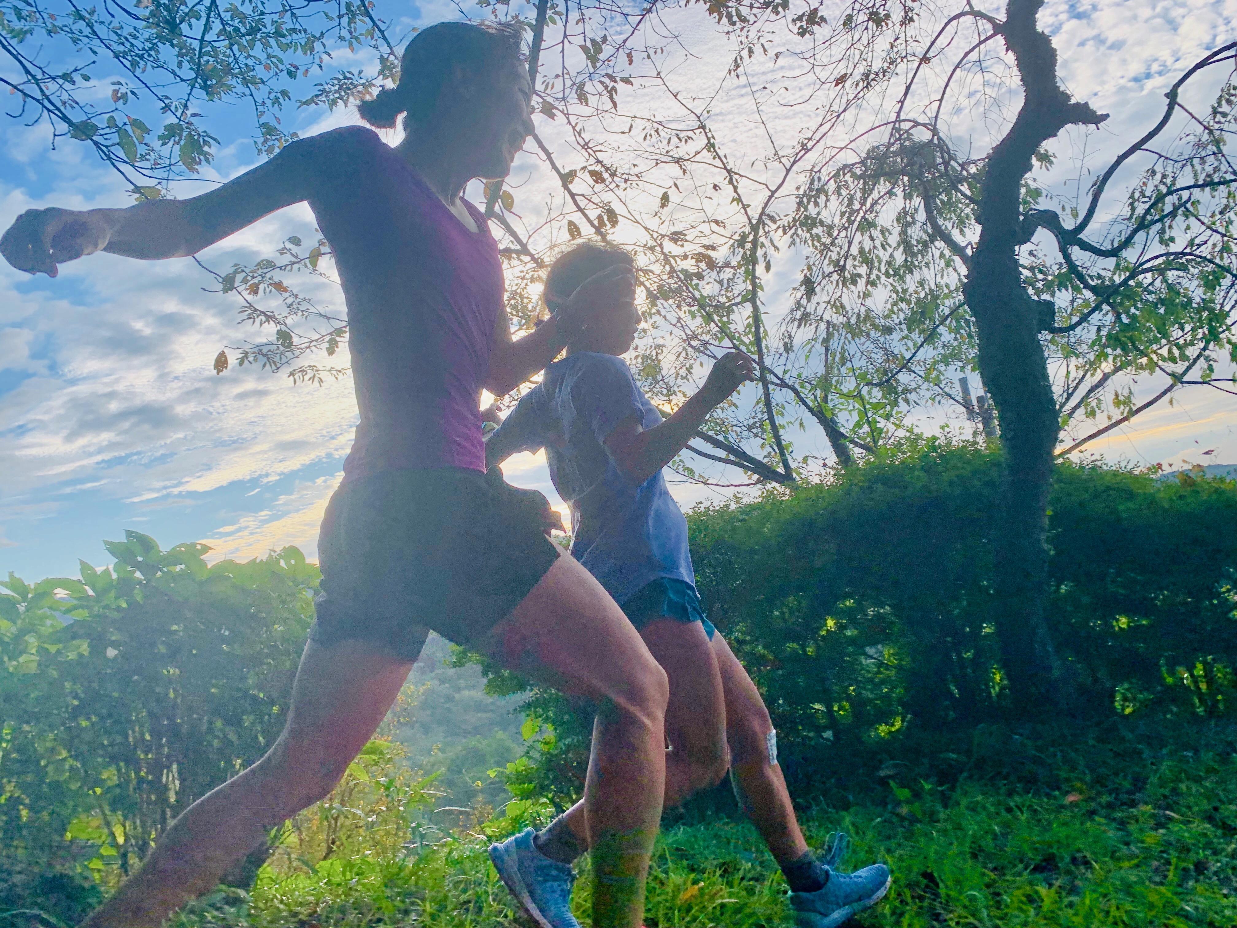 11/23(土)and RUNNING #06<br>KANNA SUZUKI ✕ NATSUMI YAMAUCHI<br>ウィメンズトレイルランニング@千葉山