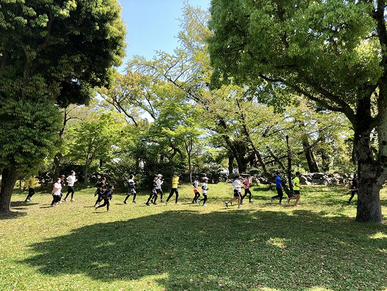 4/10(土)第1回「Park&FIT」 スタート!!